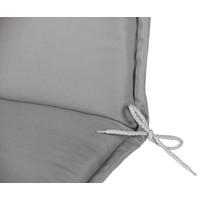 Tuinstoelkussen Comfort 120 x 50 x 6 cm - Grijs