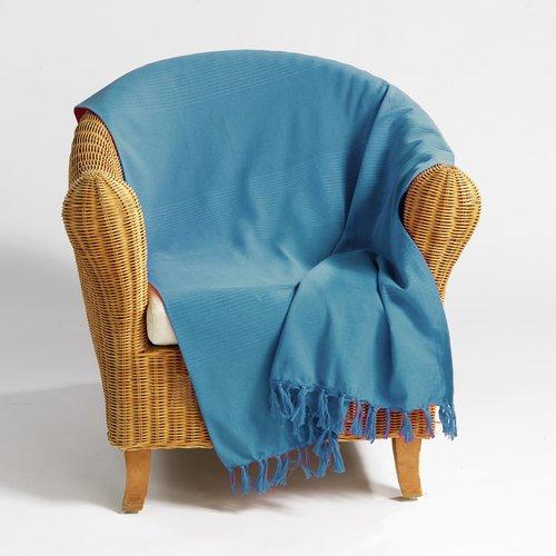 Plaid Lana Turquoise 180 x 220 cm
