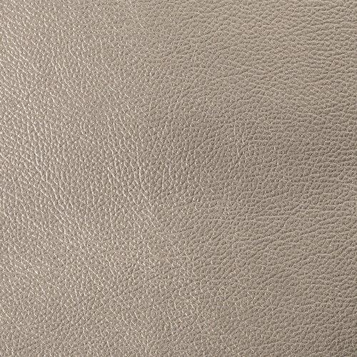 Tafelkleed Kunstleer Metallic Zilver 140 CM