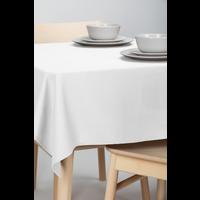 Tafelkleed Dordogne Effen Wit 140 x 250 CM