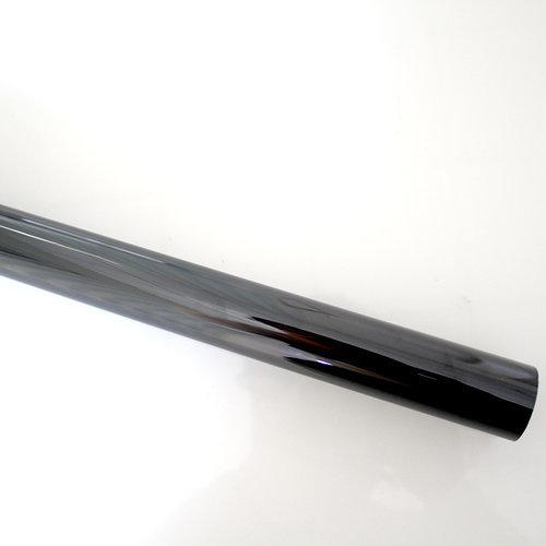 Zonwerende Raamfolie 90cm x 2m Transparant/Carbon