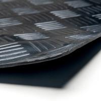 Rubbermat Op Rol - Traanplaat - Op Maat - 3mm