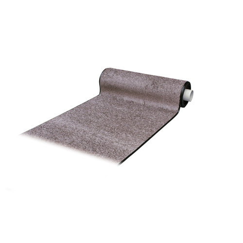 Droogloopmat Deurmat Op Maat Washclean Licht Lila - 7mm Dik - 115cm Breed