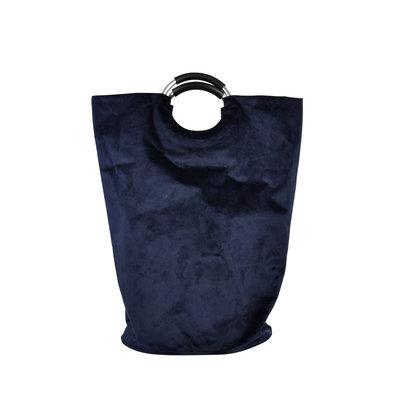 Wasmand zakmodel donker blauw 36 x 61 CM