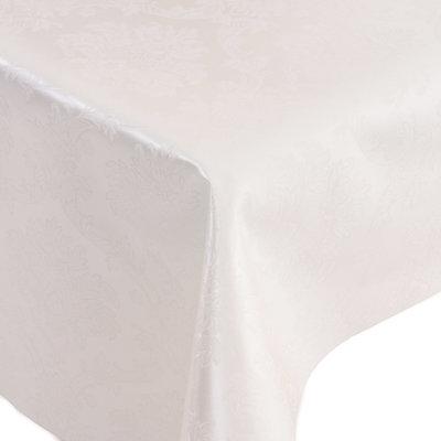 Gecoat Tafelkleed Deluxe Amatista Wit