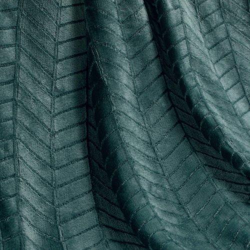 Plaid Zema Petrol Blauw 125x150cm Polyester