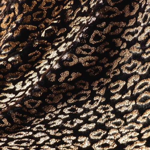 Plaid Safari Zwart 125x150cm Kunst Bont