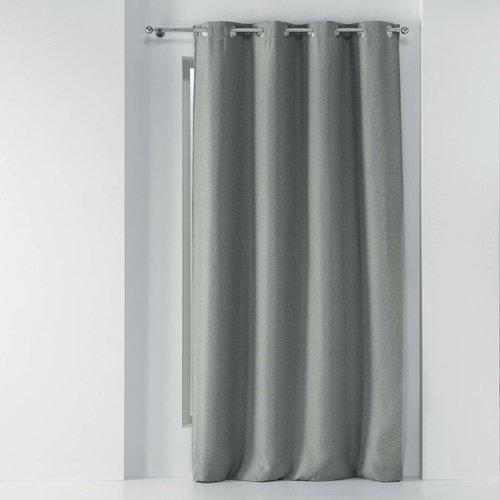 Kant En Klaar Gordijn Ringen Grijs 135 x 240 cm