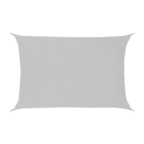 Schaduwdoek Rechthoek Wit HDPE
