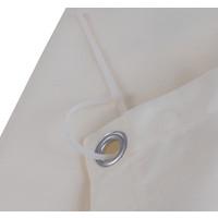 Balkonscherm Rechthoek Crème Polyester
