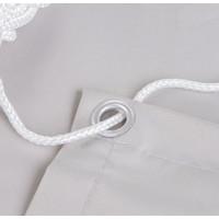 Balkonscherm Rechthoek Wit Polyester