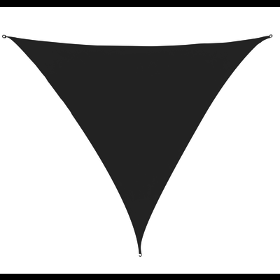 Schaduwdoek Driehoek Antraciet HDPE