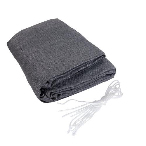 Schaduwdoek Rechthoek Antraciet Polyester
