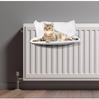Kattenmand-Radiator-45x30cm wit