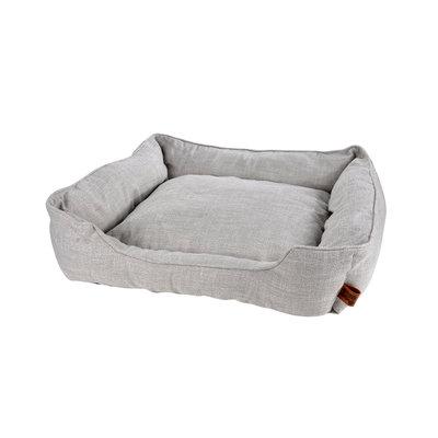 Hondenkussen-Hondenbed-Cosy 65x60cm licht grijs