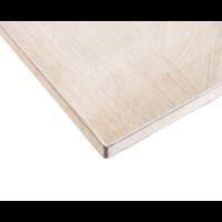 Doorzichtig Tafelzeil 2.2 mm - 120cm breed - 100% transparant, Glashelder - Hoge Kwaliteit Tafelbeschermer