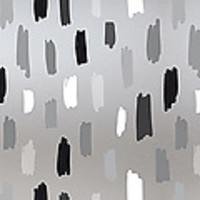 Raamfolie statisch-anti inkijk-Rayones grijs 46cm x 1.5 M