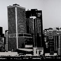 Raamfolie statisch-anti inkijk-Ciudad 46cm x 1.5 M