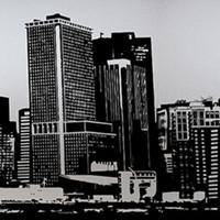 Raamfolie statisch-anti inkijk-Ciudad 46cm