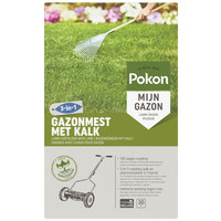Pokon Pokon Gazonmest met Kalk 75m2
