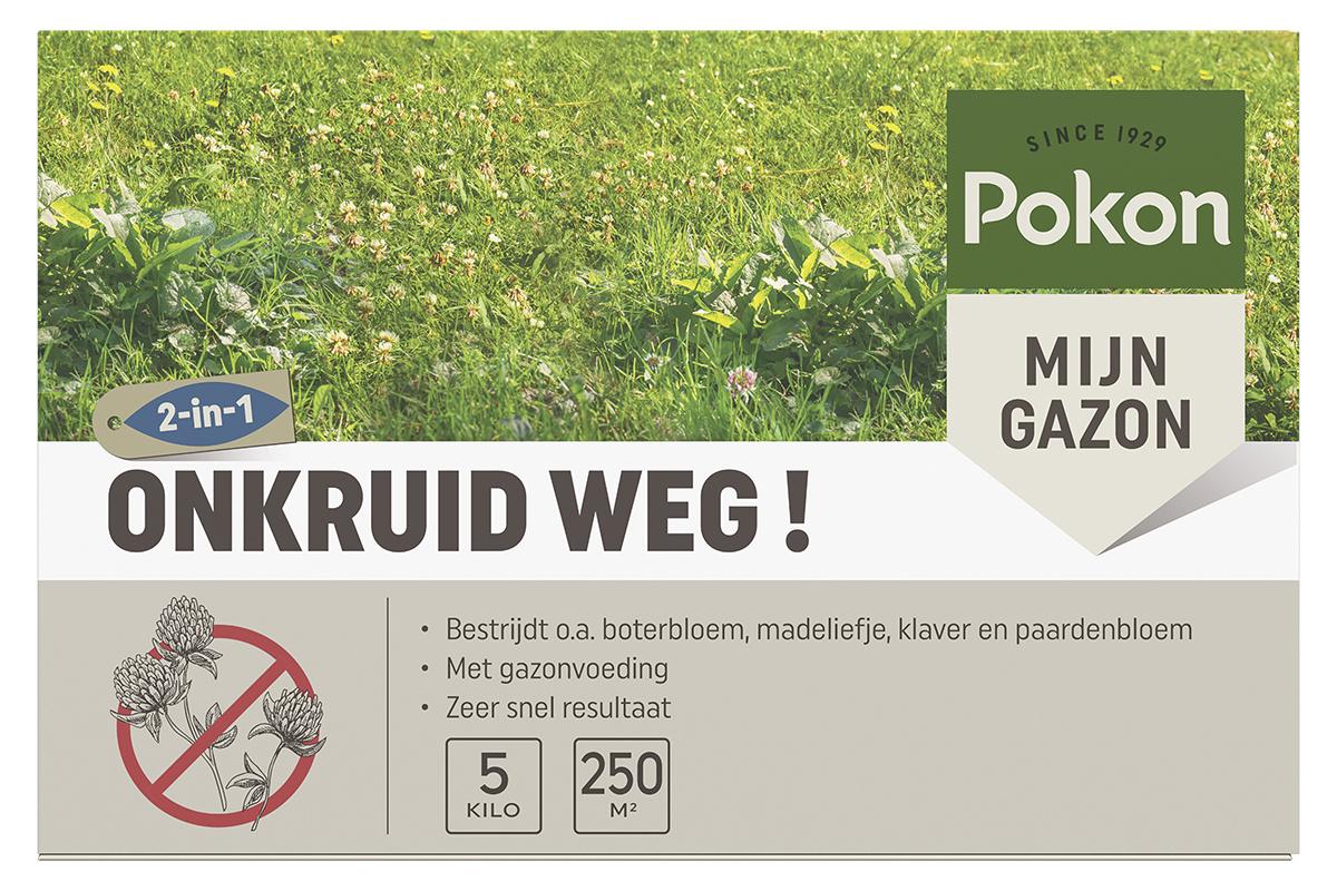 Pokon Onkruid Weg! 250 m2 5KG