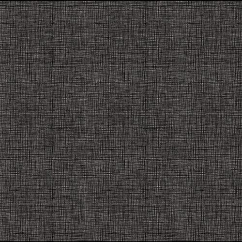 Raamfolie statisch-anti inkijk-Textiel Sand zwart 46cm x 1.5m