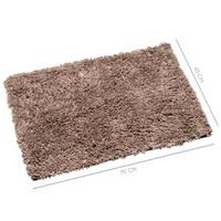 Badmat Classic pure Taupe 60x90 cm