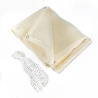 Balkonscherm Rechthoek Crème HDPE