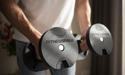 Dumbell press incline