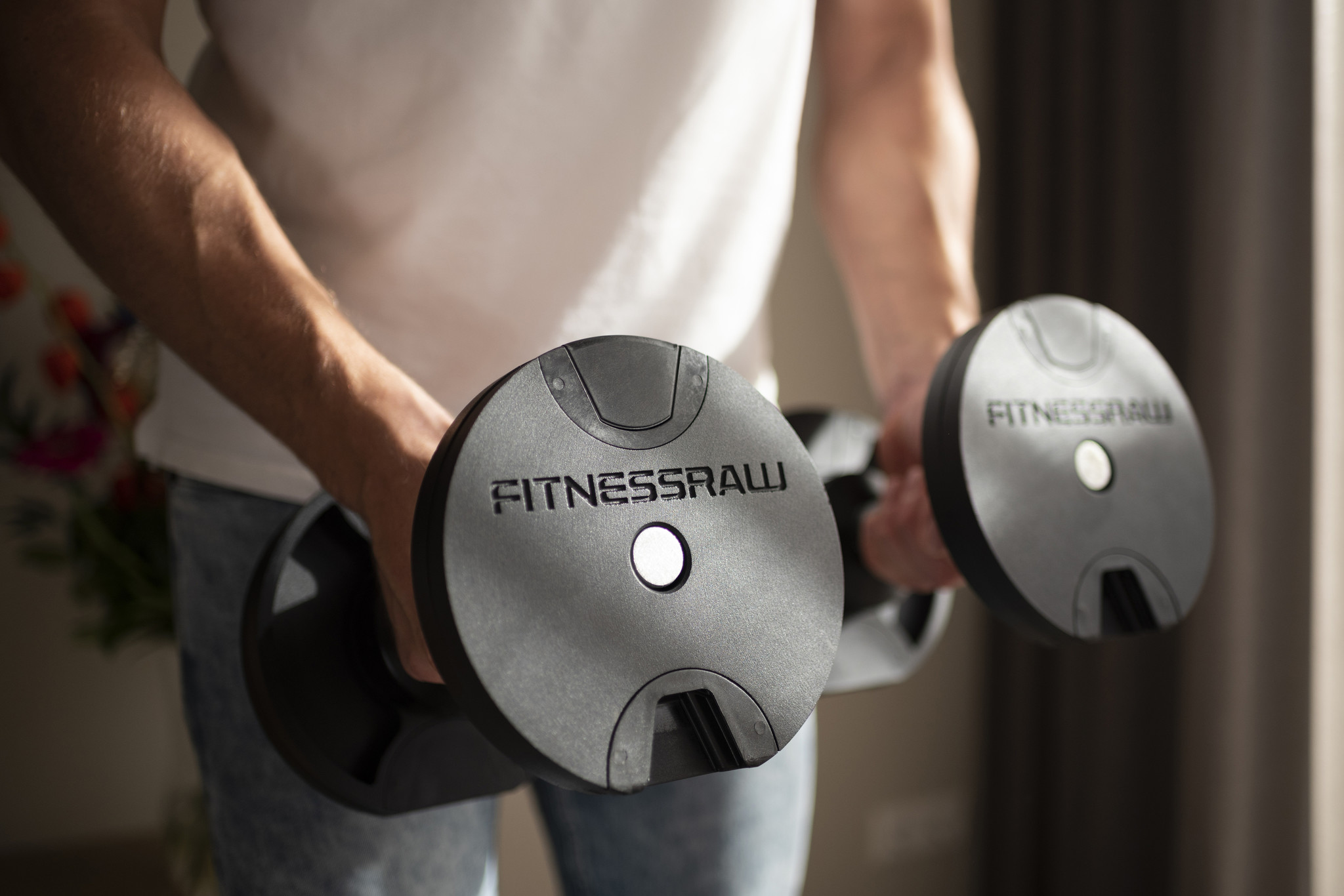 Dumbbell press incline