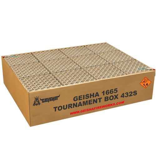 Geisha Tournament Box – XXL Showbox