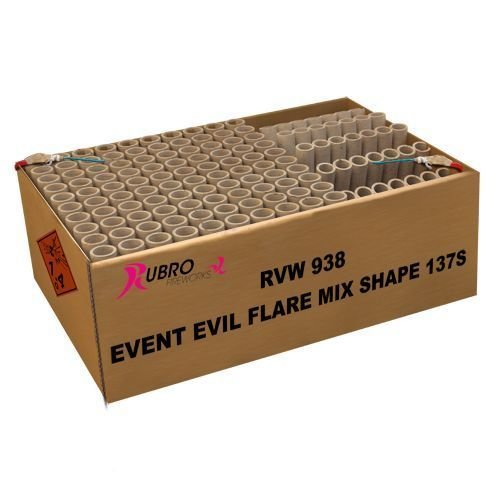 Rubro Event Evil Flare Mix Shape 137's – XXL Showbox