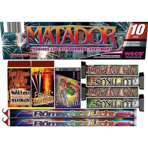 Weco Matador – Partysortiment