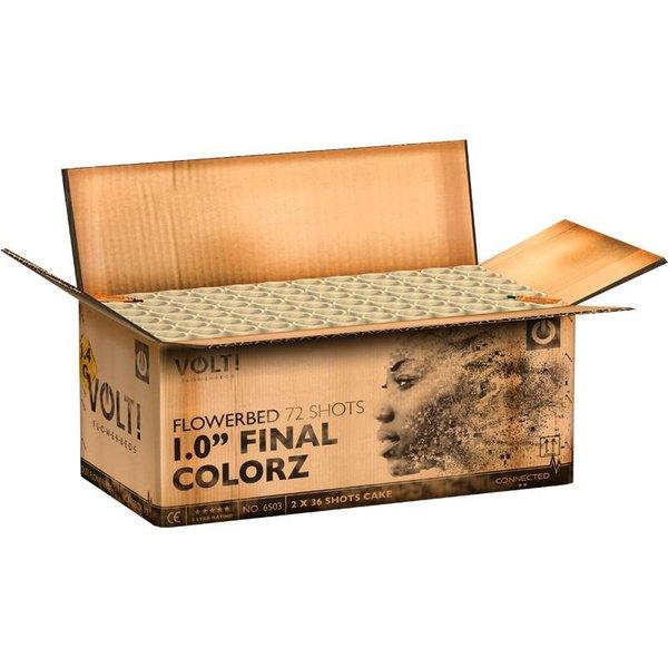 1,0'' Final Colorz – Verbundfeuerwerk