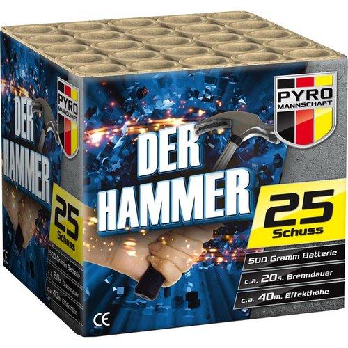 Pyro Mannschaft Der Hammer – 500NEM Grammer - NEU 2018