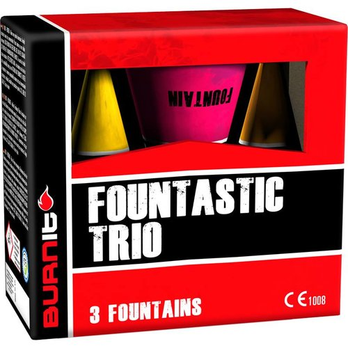 Burn It Fountastic Trio – 3er Vulkane