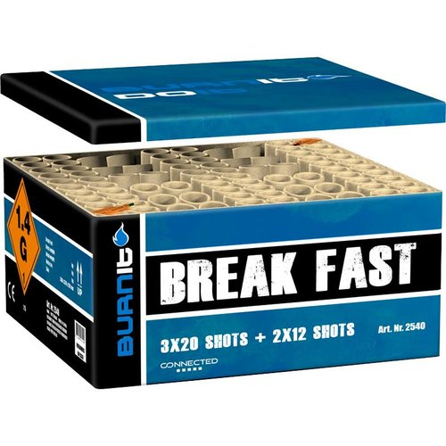 Burn It Break Fast Box  - XXL Verbundfeuerwerk - NEU 2018