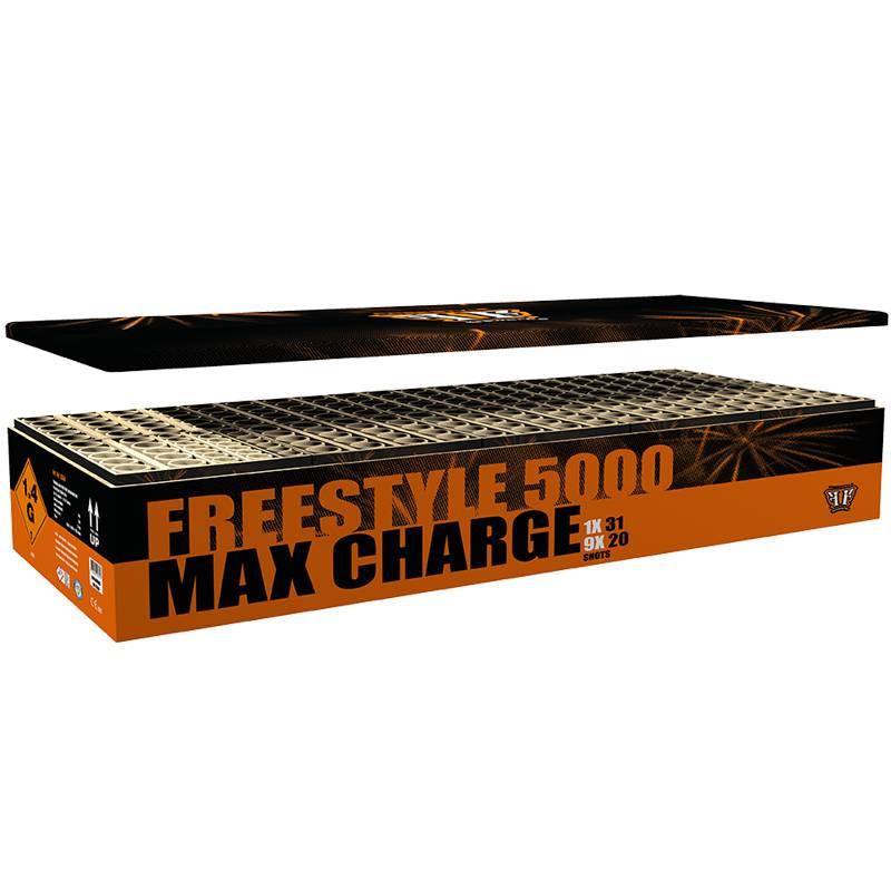 Freestyle 5000 Max Charge - Mega Showbox XXL