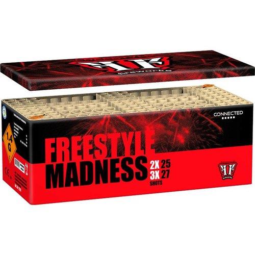 Freestyle Madness Box - Verbundfeuerwerk