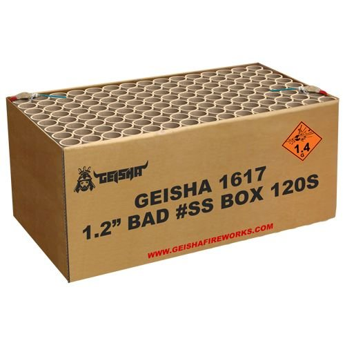 "Geisha 1.2"" Bad #ss BOX"