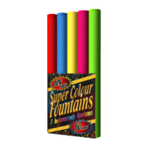 Jorge Super Colour Hand Hold Fountains – Bengalos