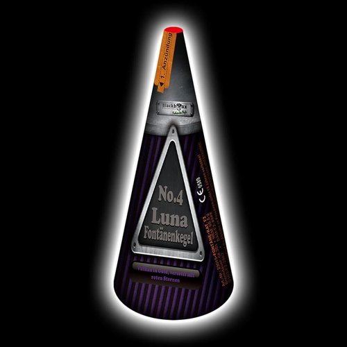 Blackboxx Luna-Fontänenkegel No.4