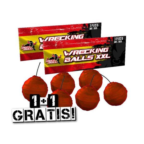 Wrecking Balls Cracklingkugeln 2=1 – NEU 2018