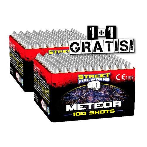Street Fireworks Meteor - Heulerbatterie 2=1 COMBIDEAL
