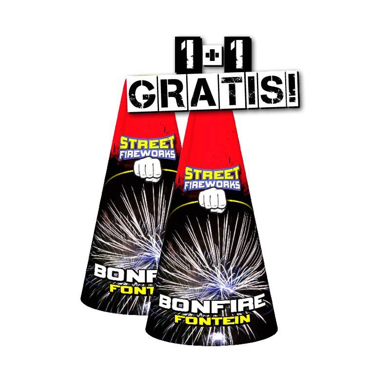 Street Fireworks Bonfire - Vulkan 2=1 - COMBIDEAL