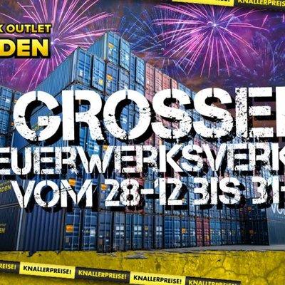 Feuerwerk Outlet Dresden