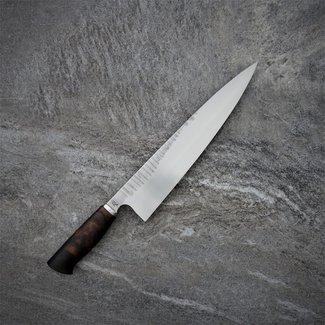 Xerxes-Knives 90# 25er Gyuto mit Wüsteneisenholz