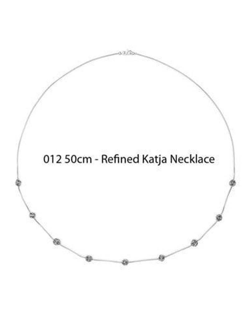 Buddha to Buddha Buddha to Buddha 012 Refined Katja Necklace zilver