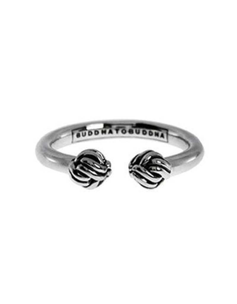 Buddha to Buddha BtoB 013 16 Refined Katja Ring zilver - Maat 16.00 mm (50)