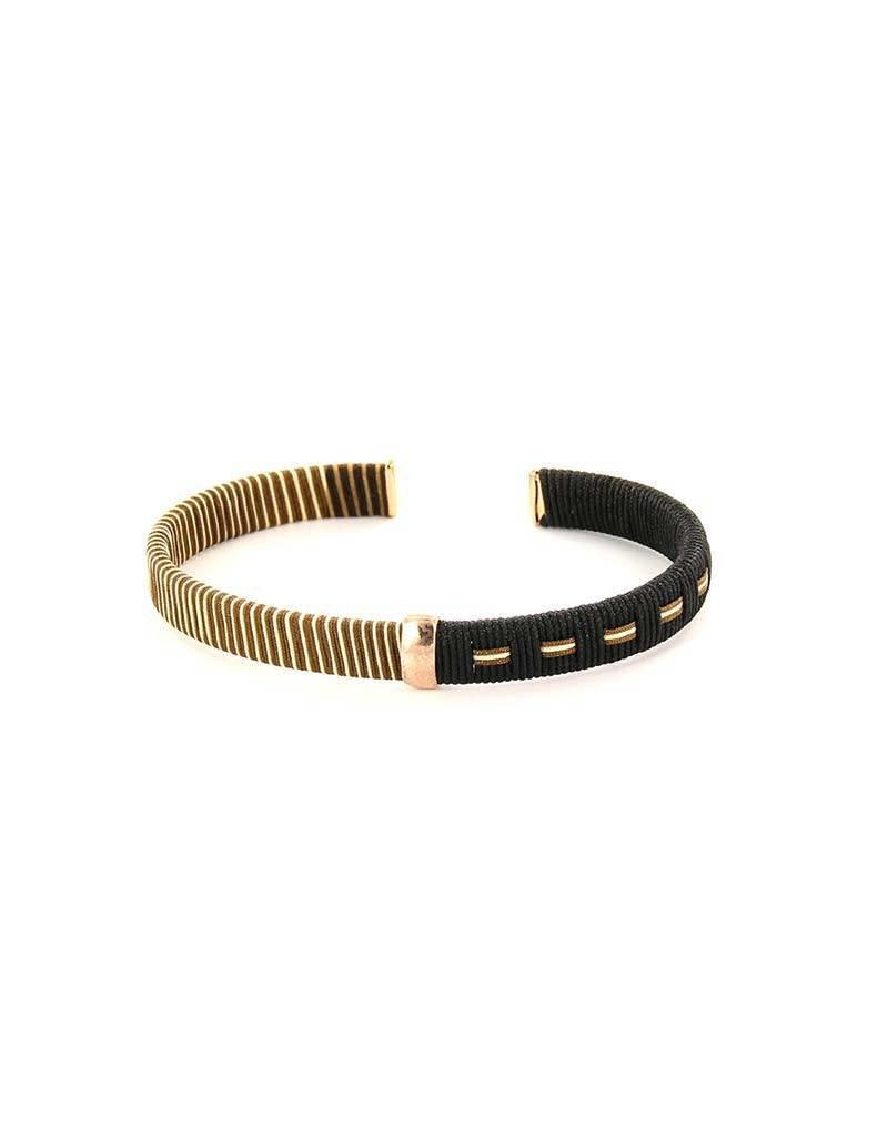 Barong Barong - Woven Dreams Rosé/Zwart - Armband